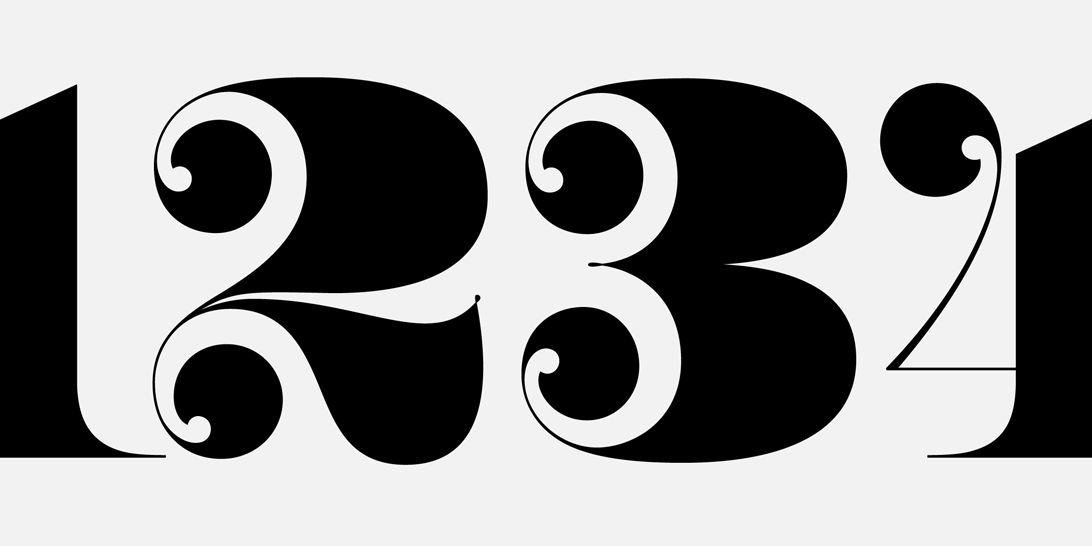 Fab Figures Big A Typeface